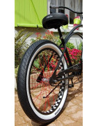 Vente location  velos americains beach cruiser triporteurs tricycle tandem old school cross BMX