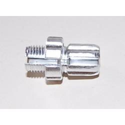 VIS TENDEUR DE CABLE VELO DIAM 10x100 FENDUE TROU 2,6/6,5mm (A L'UNITE)