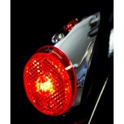 Feu rouge LED à pile 9 By Spanninga