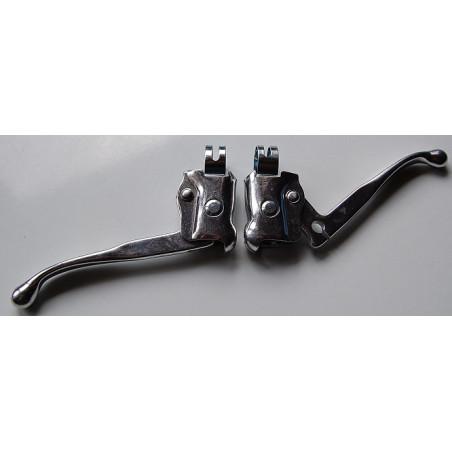Leviers de freins vélo rétro en alu type Weinmann