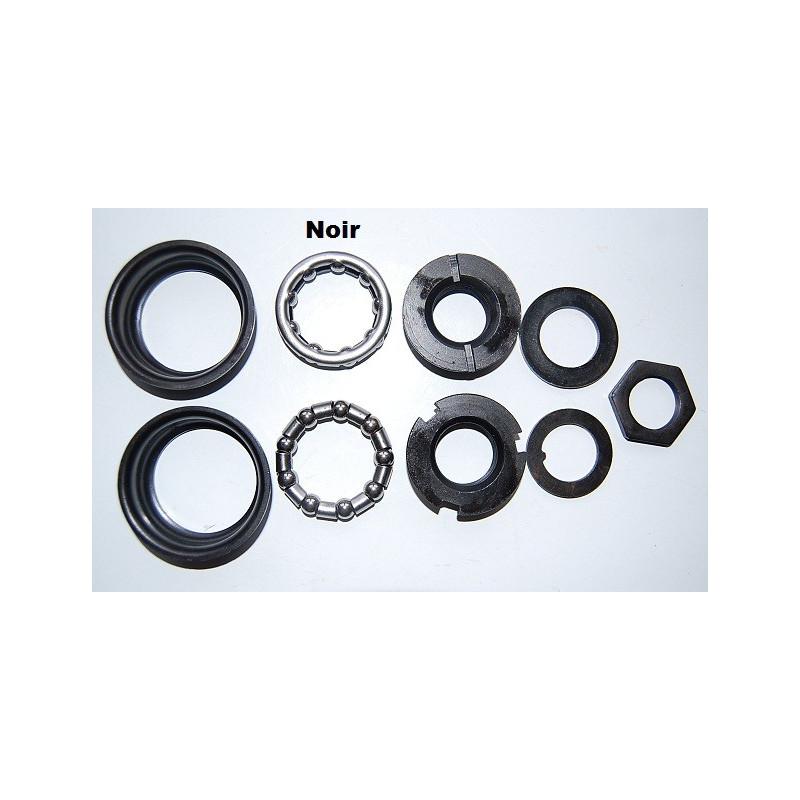 Jeu pedalier BMX acier noir dia 51,5mm